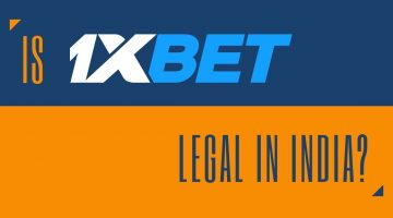 Is 1xbet legal in India