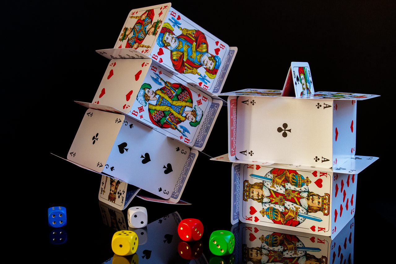 Card games and dices